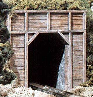 Building Timber Tunnel Portals Model Railroader Magazine