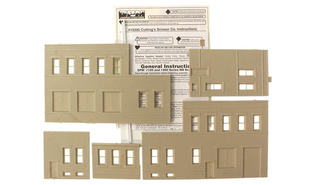 Cutting's Scissor Co. - HO Scale Kit