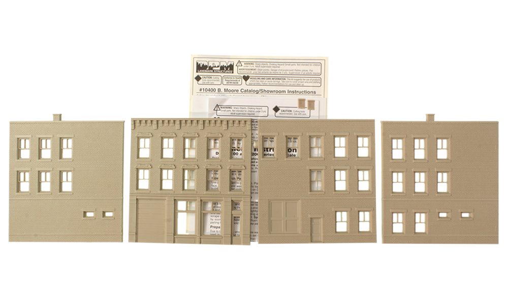 B. Moore Catalog/Showroom - HO Scale Kit