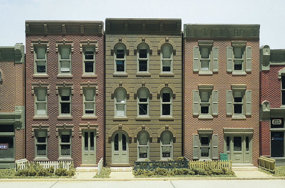Layout rail share model railroad building flats - Printable ho scale building interiors ...