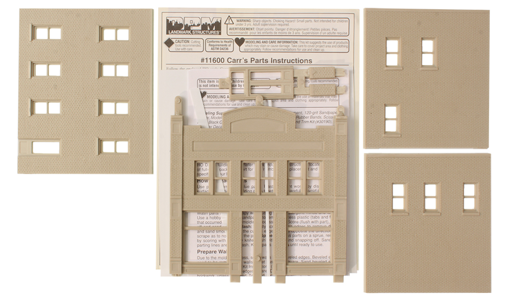 Carr's Parts - HO Scale Kit