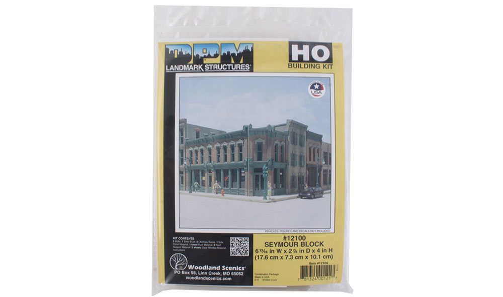 Seymour Block - HO Scale Kit