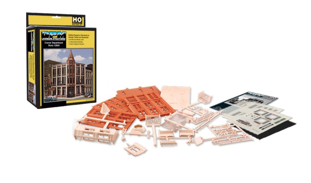Corner Department Store - HO Scale Kit