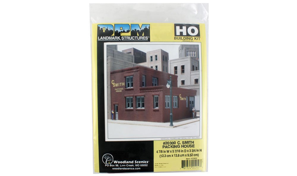 C. Smith Packing House - HO Scale Kit