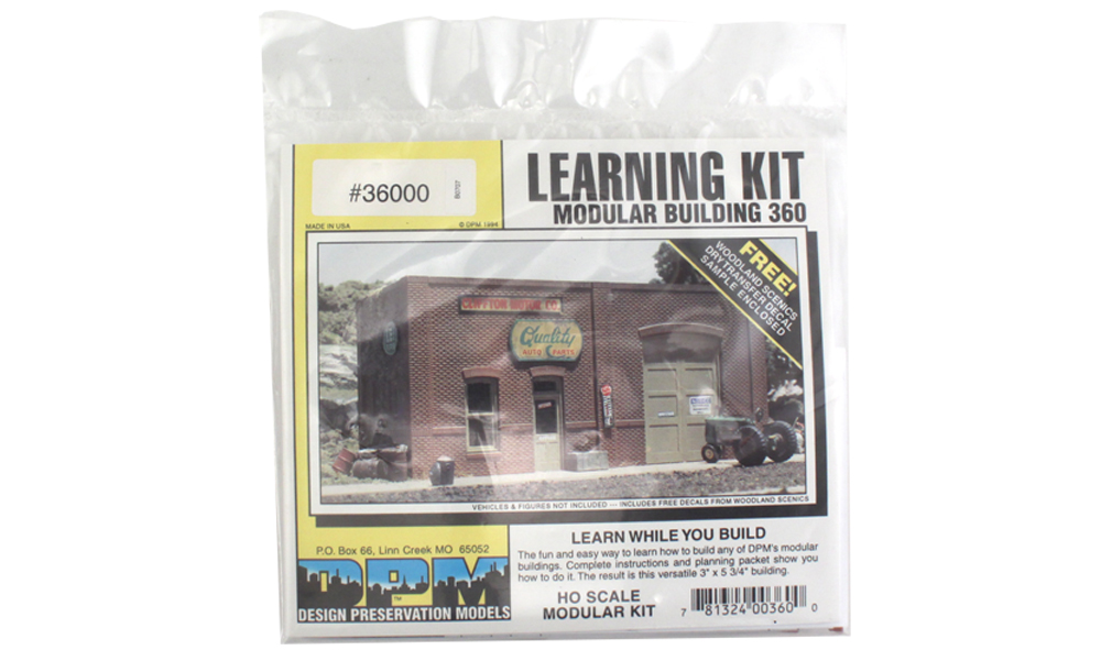 Modular Learning Kit Building - HO Scale