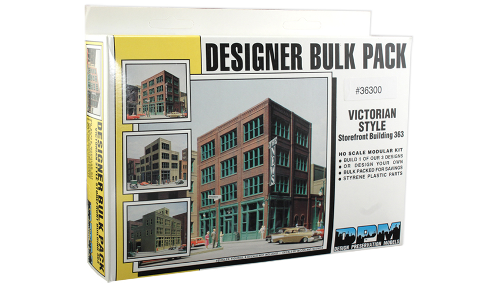 Victorian Style Storefront Building - HO Scale Kit