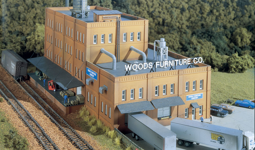 Woods furniture co n scale kit n scale woodland for Scale model furniture