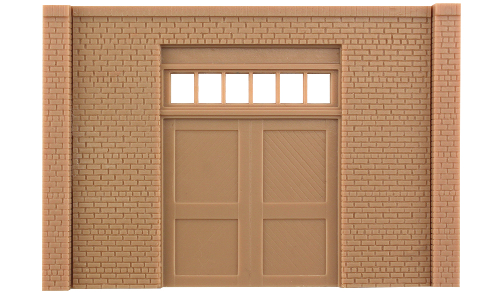 Street/Dock Level Freight Door - O Scale - Woodland Scenics - Model Layouts Scenery Buildings and Figures & Street/Dock Level Freight Door - O Scale - Woodland Scenics - Model ...