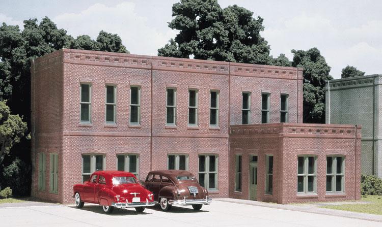 O scale buildings kits