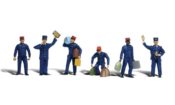 Train Personnel - HO Scale