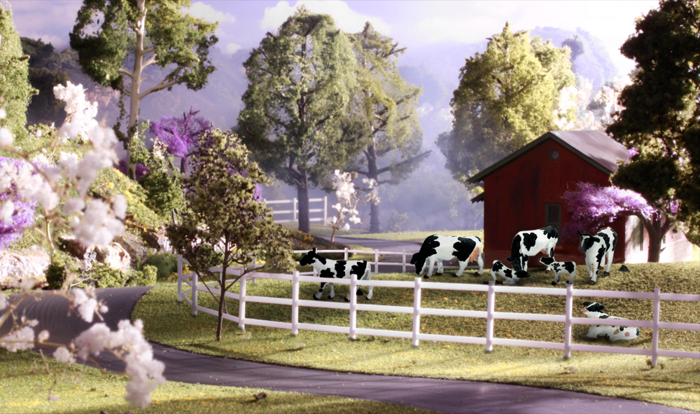 Holstein Cows - HO Scale