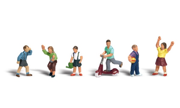 Children - HO Scale