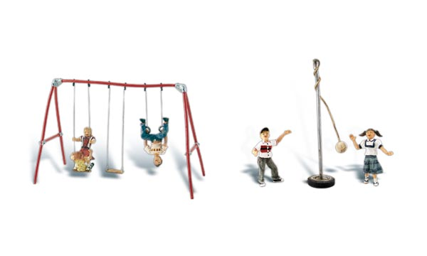 Playground Fun - HO Scale