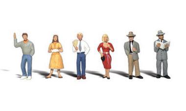 Woodland Scenics Senior Citizens N Train Figures A2201