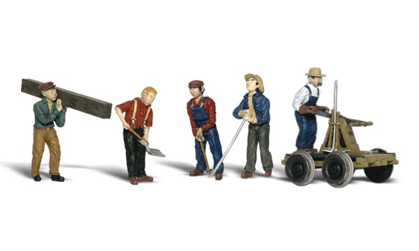 Rail Workers - N scale
