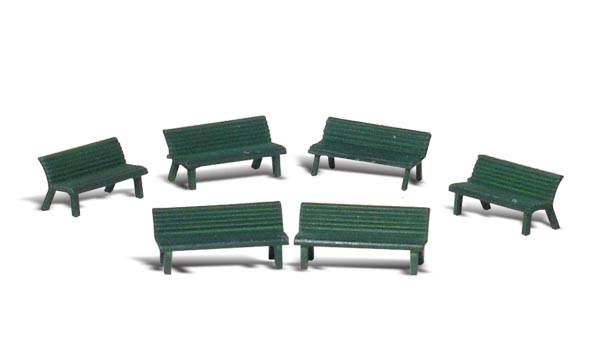 Park Benches - N scale