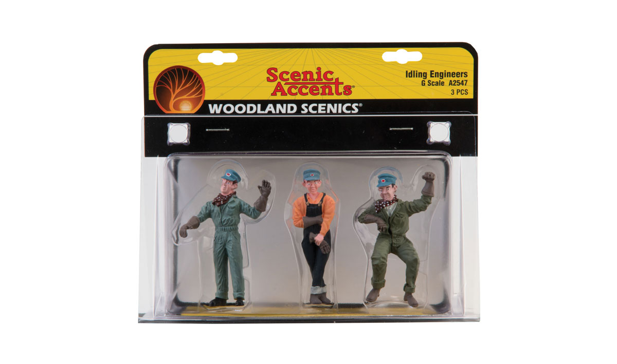 Woodland Scenics G Scale Scenic Accents Idling Engineers