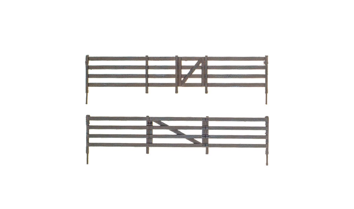 Rail Fence - HO Scale