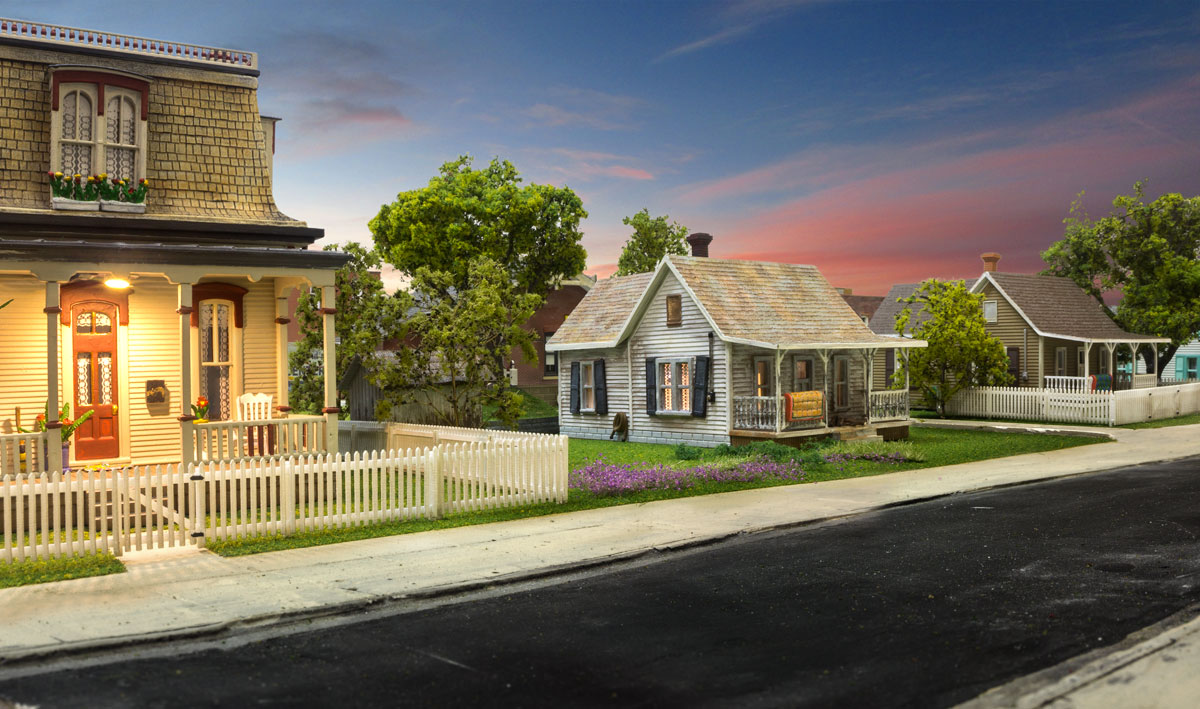 Picket Fence - HO Scale