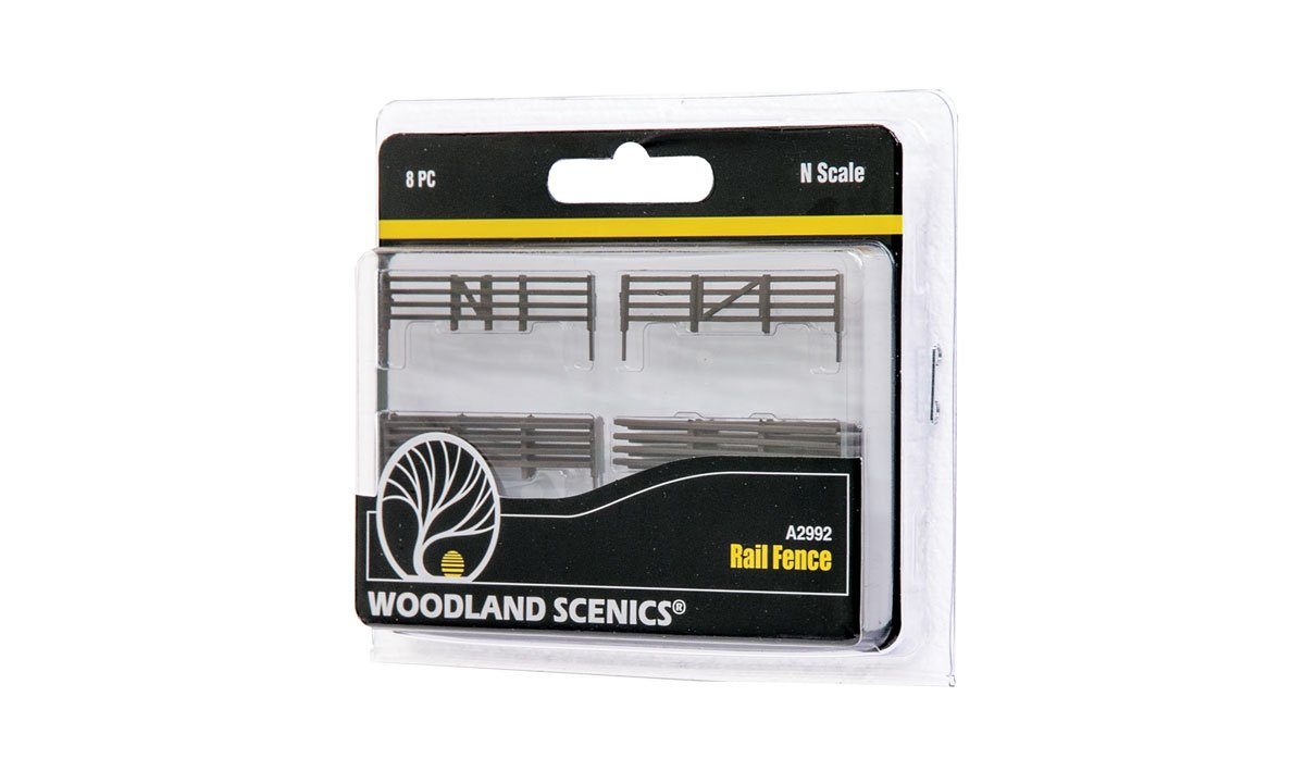 Rail Fence - N Scale