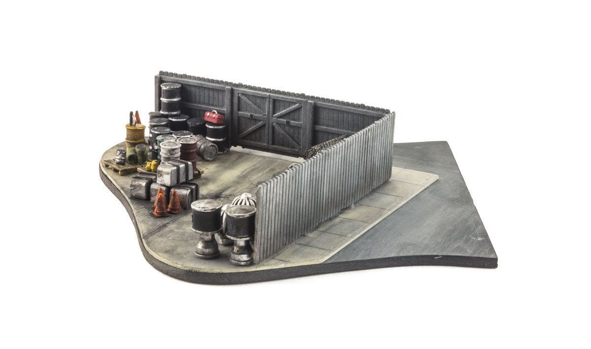 Privacy Fence - N Scale