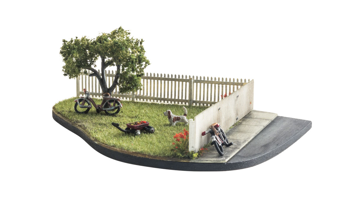 Picket Fence - O Scale