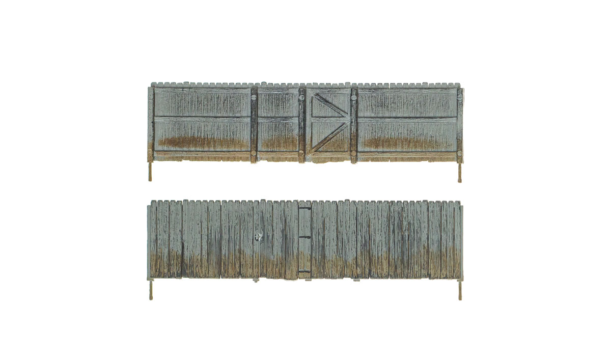 Privacy Fence - O Scale