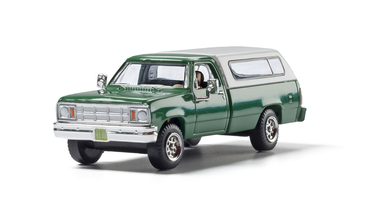 Camper Shell Truck - HO Scale