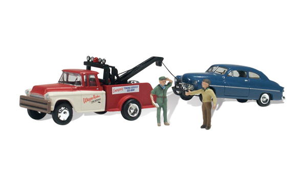 Wayne Recker's Tow Service - HO Scale