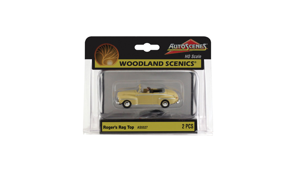 Roger's Rag Top - HO Scale