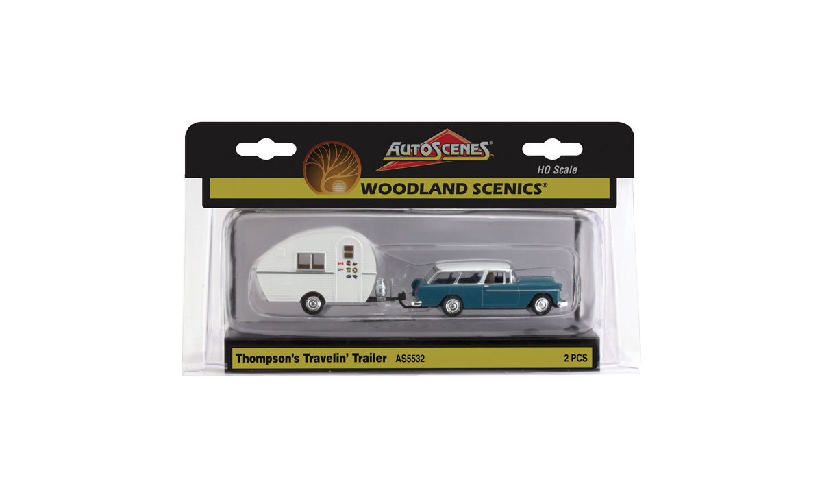 Thompson's Travelin' Trailer - HO Scale