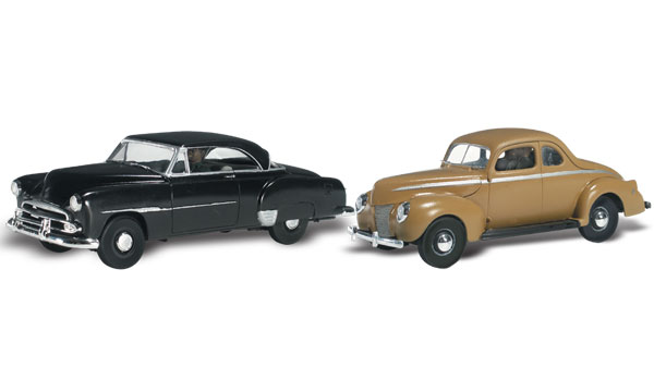 Cruisin' Coupes - HO Scale