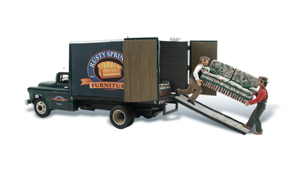 Rusty Springs Furniture - HO Scale