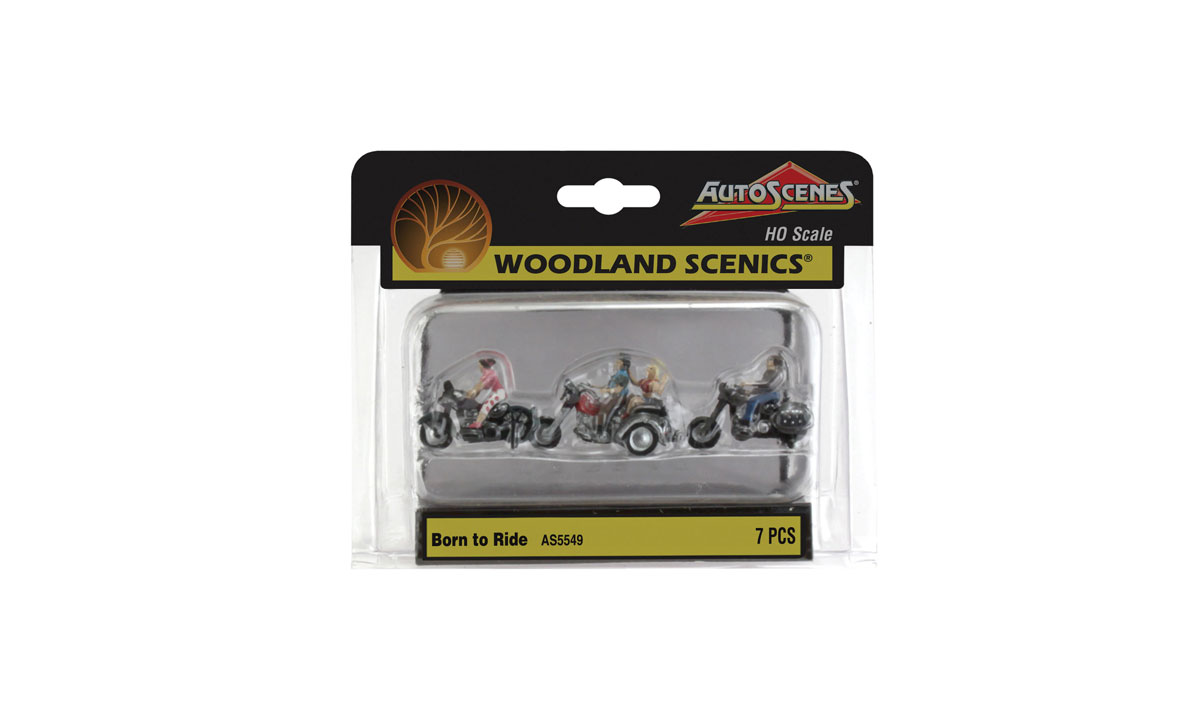Born to Ride - HO Scale
