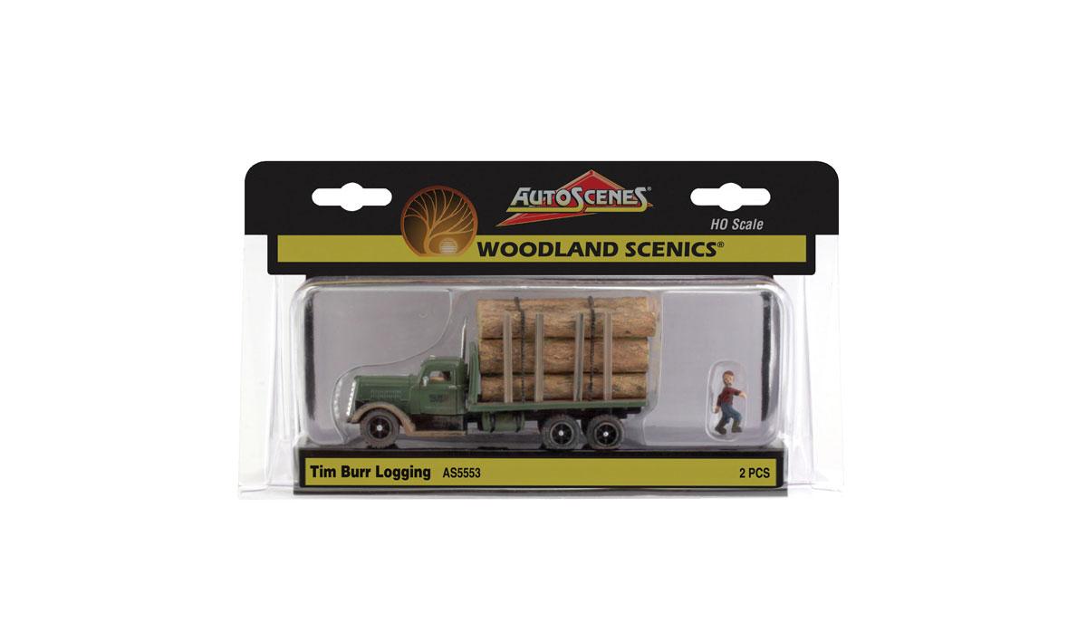 Woodland Scenics Tim Burr Logging HO AS5553