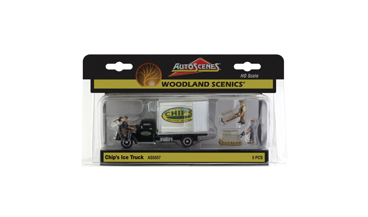 Chip's Ice Truck - HO Scale