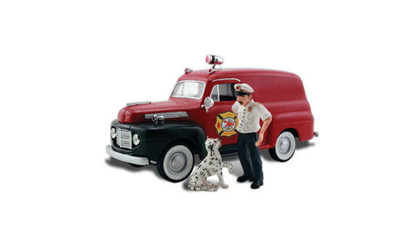 Sparky & The Chief - HO Scale