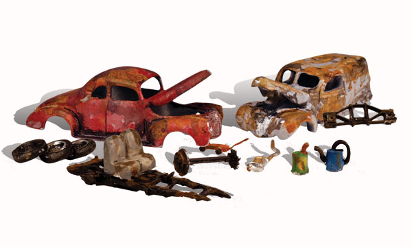 Junk Cars - HO Scale