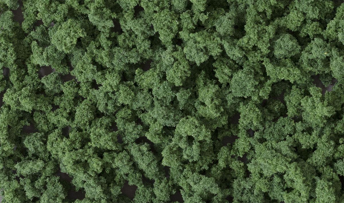 Dark Green Bushes Woodland Scenics Model Layouts