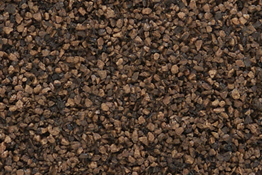 dark brown landscaping rock
