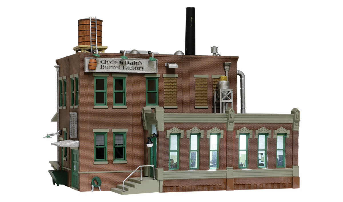 Clyde & Dale's Barrel Factory - N Scale