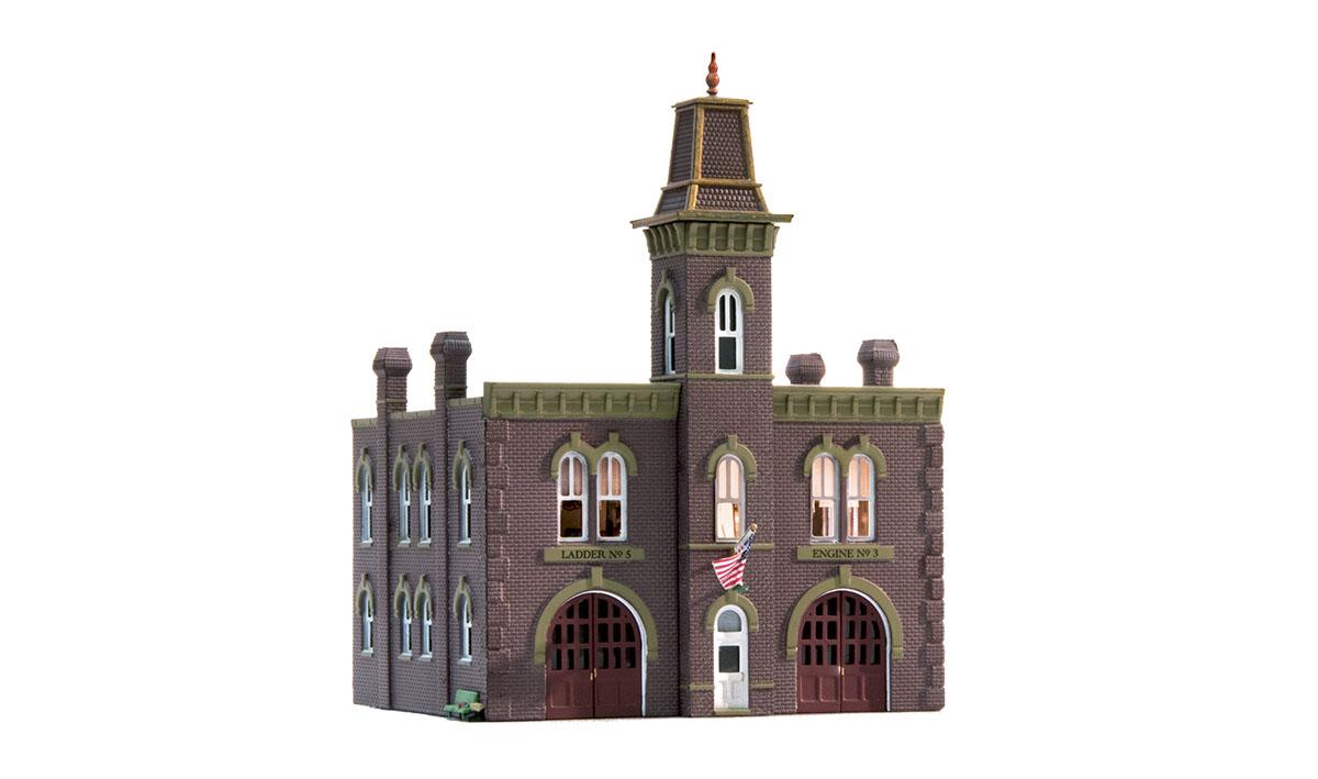 Woodland BR4934 N Built-Up Firehouse