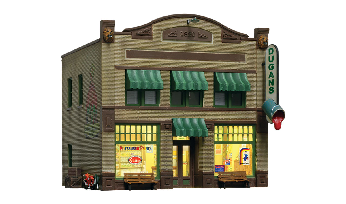 Dugan's Paint Store - N Scale