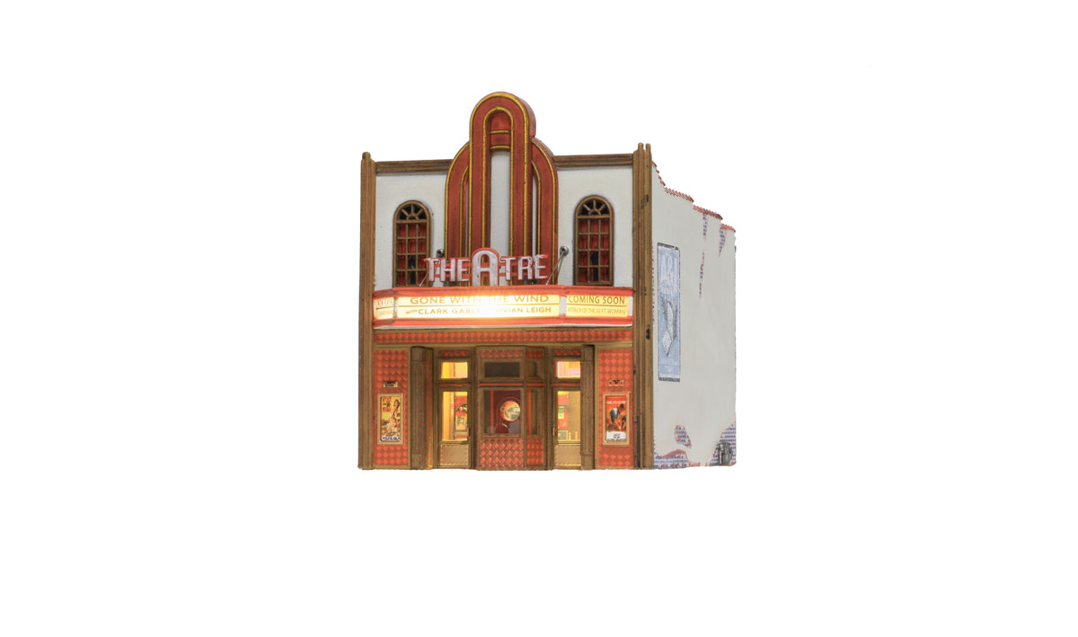 NEW Woodland Theater N Scale BR4944