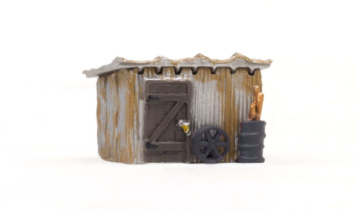 Tin Shack - N Scale