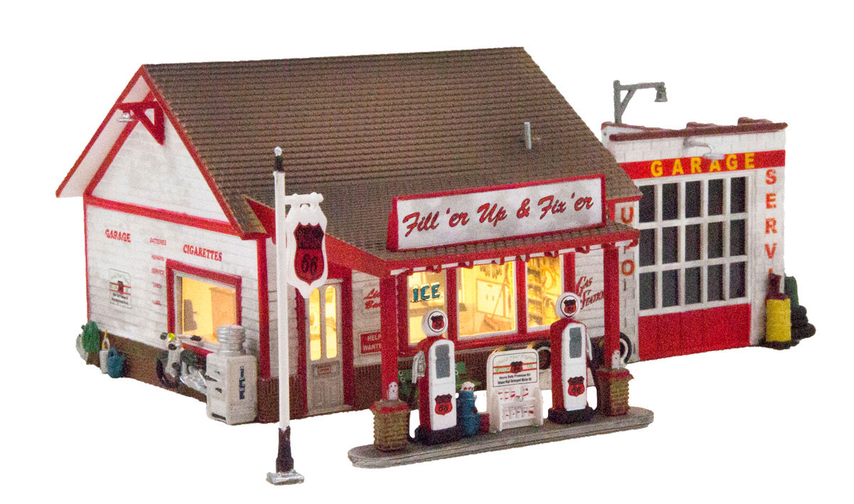 Fill'er Up & Fix'er - HO Scale
