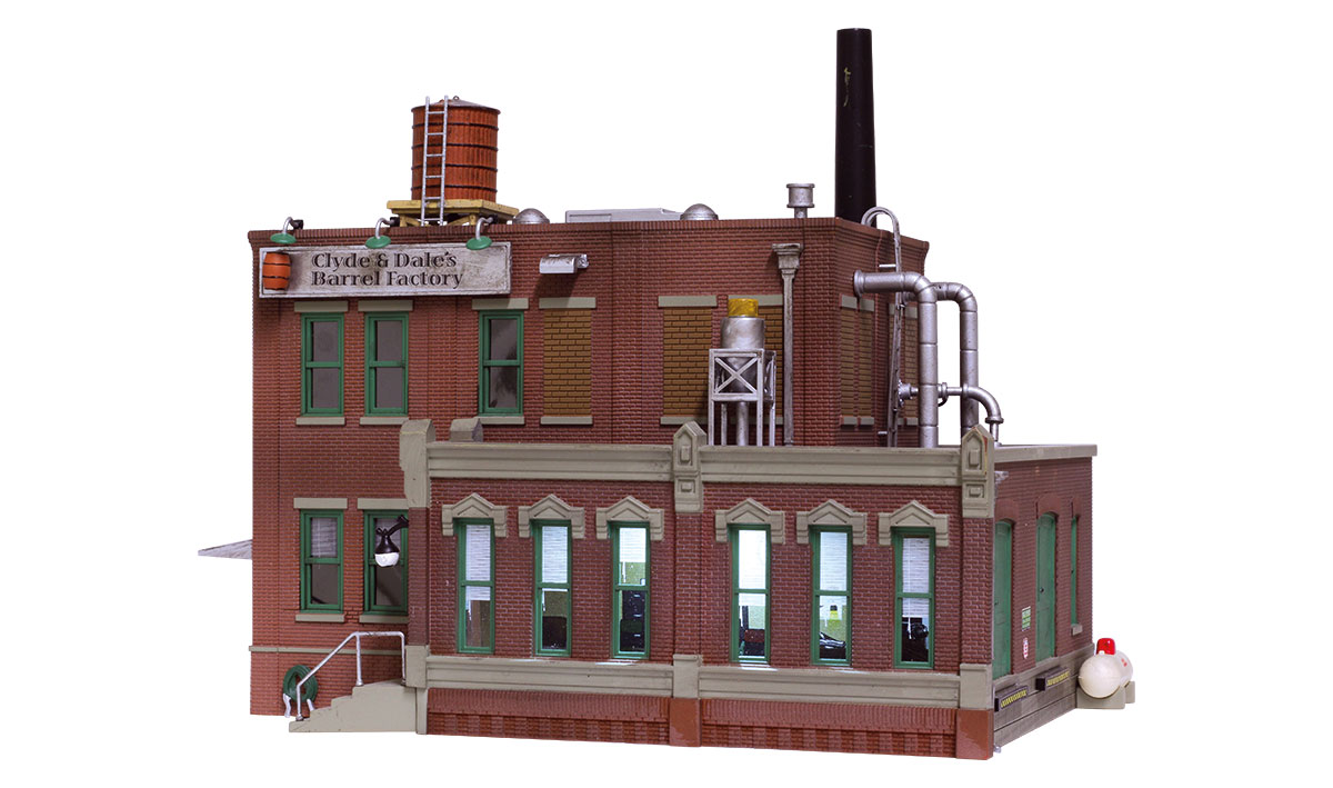 Clyde Amp Dale S Barrel Factory Ho Scale Woodland Scenics