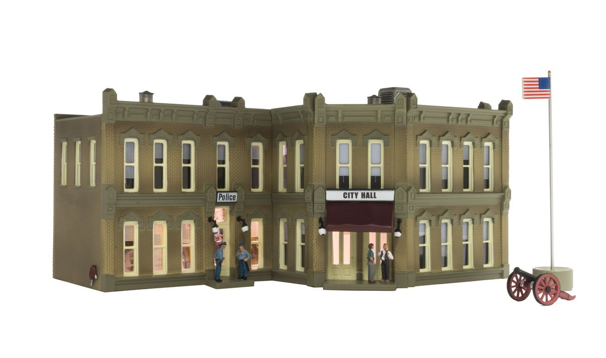 Municipal Building - HO Scale