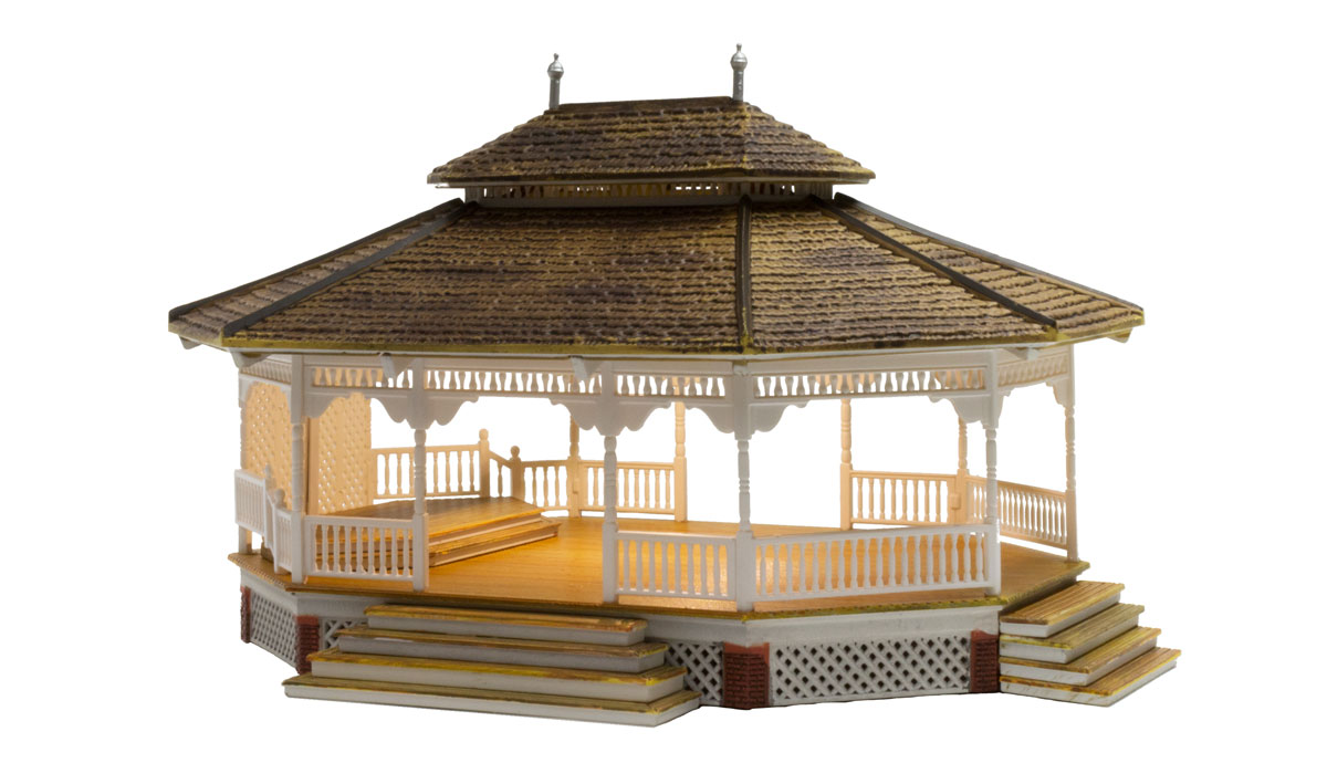 Grand Gazebo - HO Scale