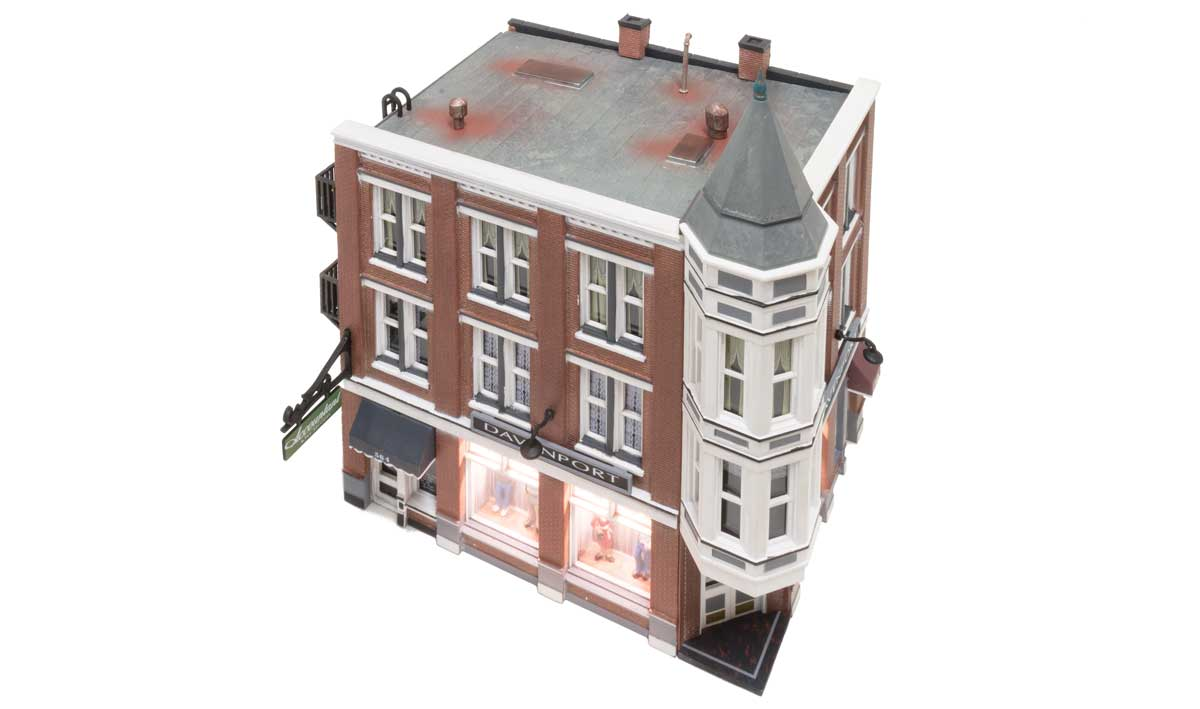 Davenport Department Store - HO Scale